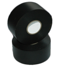 Black 20 mil Heavy Duty SPVC Vinyl Pipe Wrap Tape 100 Ft