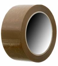 Brown 2.6 Mil Polypropylene Carton Sealing Tape, 55 YD