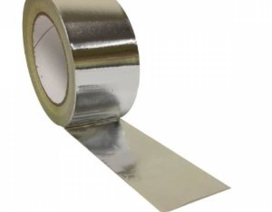 2 Mil Aluminum Foil Tapes, Rubber Adhesive 50 YD